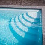 Escalier Carré LPW Pools par Be-Pool