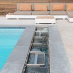 Volet de piscine Covrex Classic avec poutre de sous débordement par Be-Pool sans caillebotis