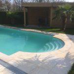 escalier roman de la piscine style de LPW POOLS
