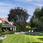 LPW Piscine avec canal de nage et jardin
