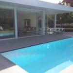 Escalier piscine avec canal de nage LPW ZK 12 Be-Pool